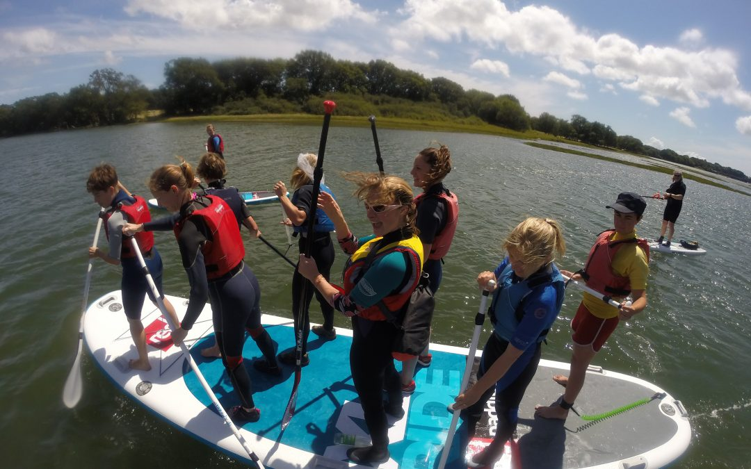 Giant 8 Man Paddleboard / Party For up to 8 ppl